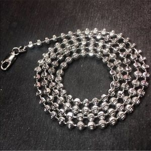 Jewelry - 14k white gold layered over Solid 925 silver chain
